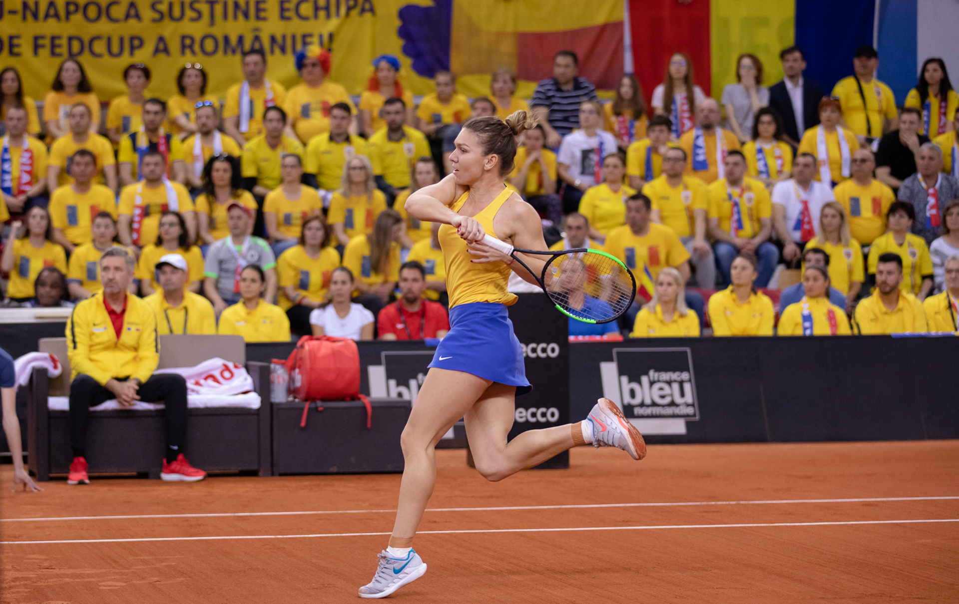 Fed Cup - Romania VS Franta